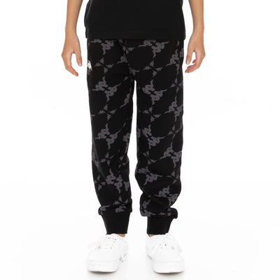 Kids Authentic Eldera Sweatpants - Black Grey White