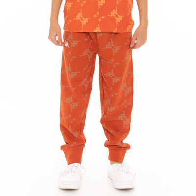 Kids Authentic Eldera Sweatpants - Orange White