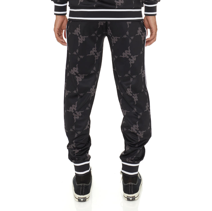 Authentic Ombrone Trackpants - Black Grey White
