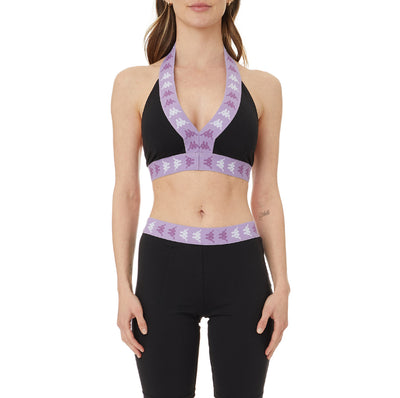 222 Banda Anasco Bra Top - Black Violet