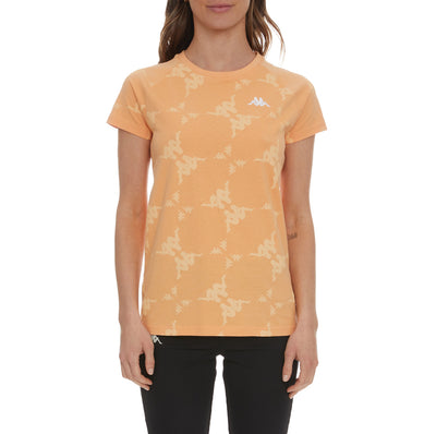 Authentic Kapan T-Shirt - Orange Blush