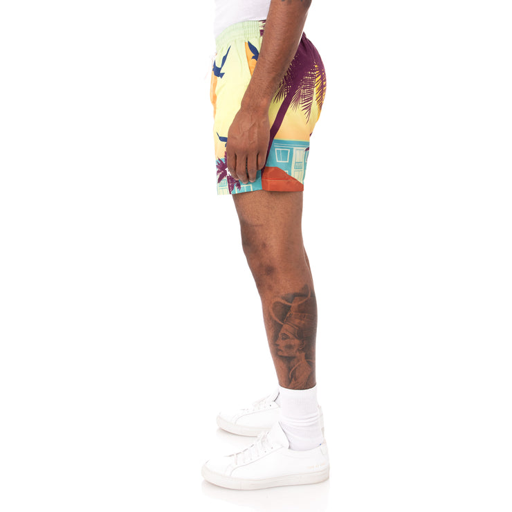 Authentic Highgate Swim Shorts - Graphic