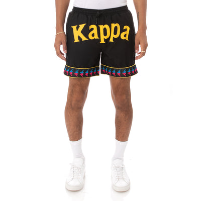 Kappa 222 Banda Calabash Swim Shorts - Black