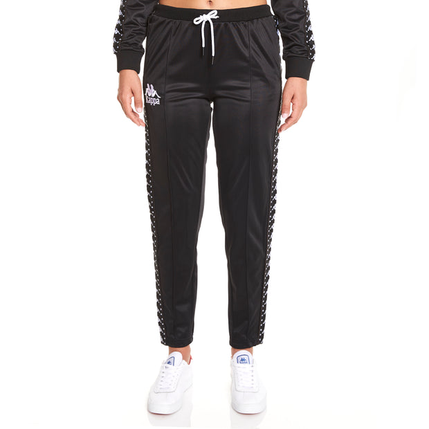 Kappa Authentic Amwor Black Trackpant