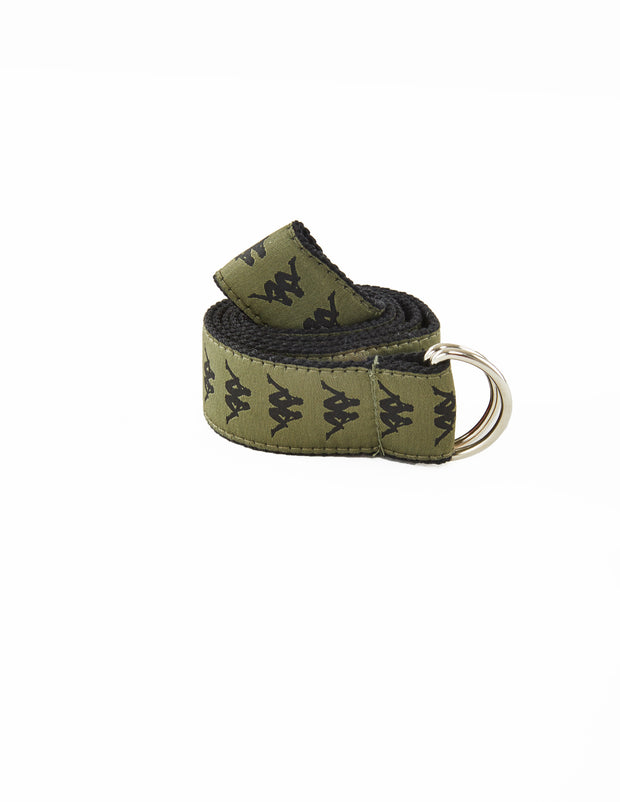 Authentic Banda Belt 3.5 - Green Africa Black