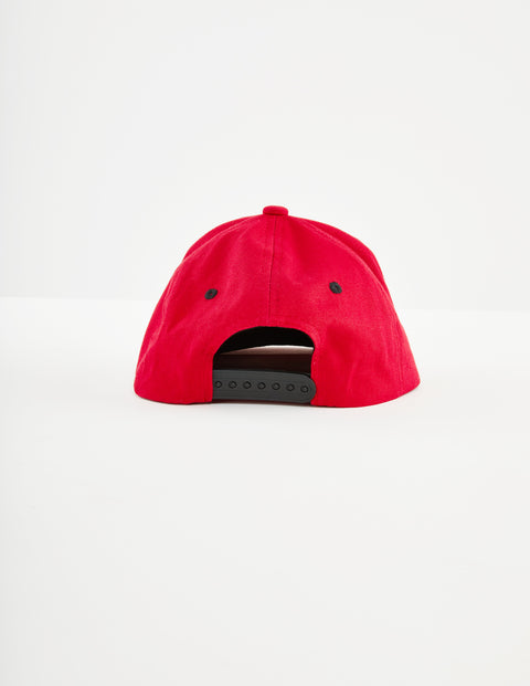 Authentic Bzadem Red Dk Black Cap