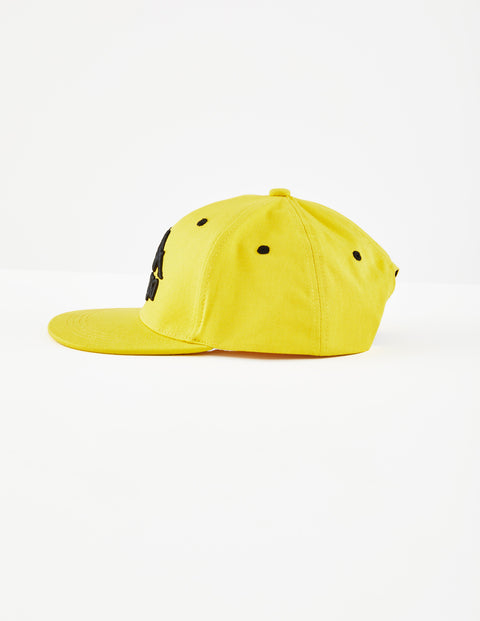 Authentic Bzadem Yellow Dk Senape Black Cap