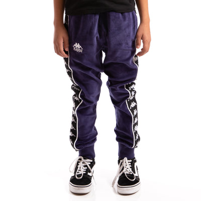 Kappa Kids Authentic 222 Banda Ayne Pants Blue Greystone Black