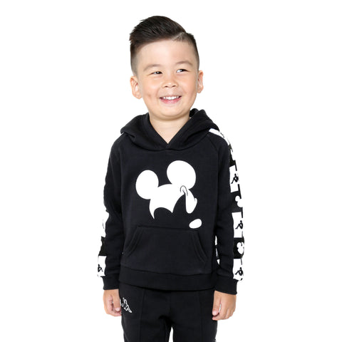 Kappa Kids Authentic Abel Disney Black Hoodie