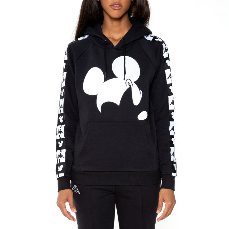 Kappa Authentic Abel Disney Black Hoodie