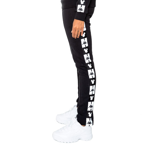 Kappa Authentic Alphonso Disney Black Sweatpants