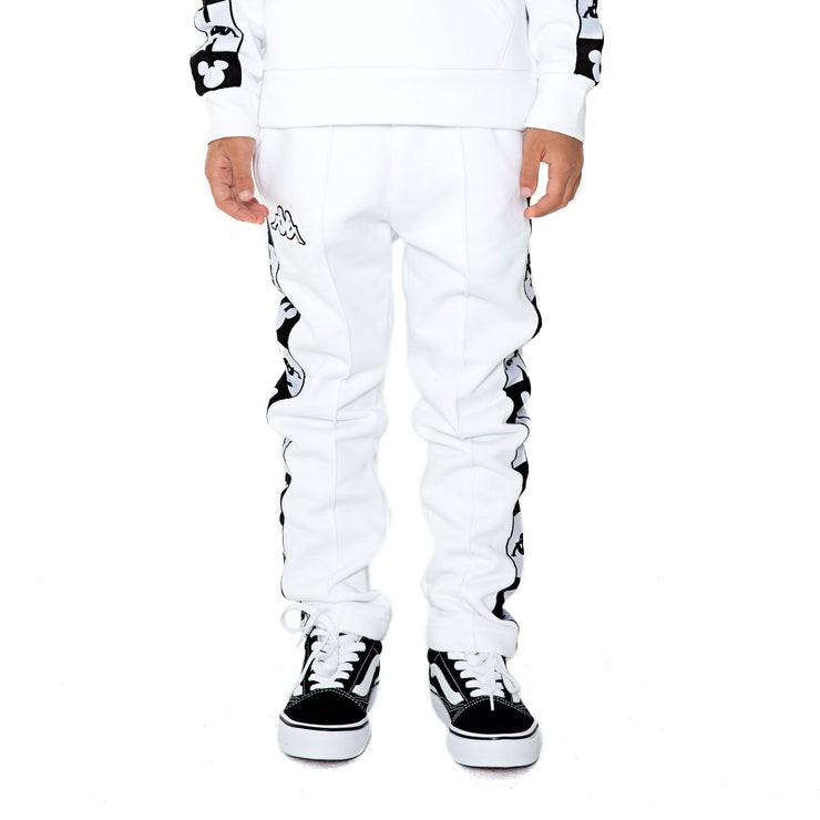 Kappa Kids Authentic Alphonso Disney White Sweatpants