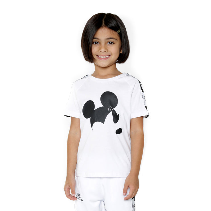 Kappa Kids Authentic Alvar Disney White T-Shirt