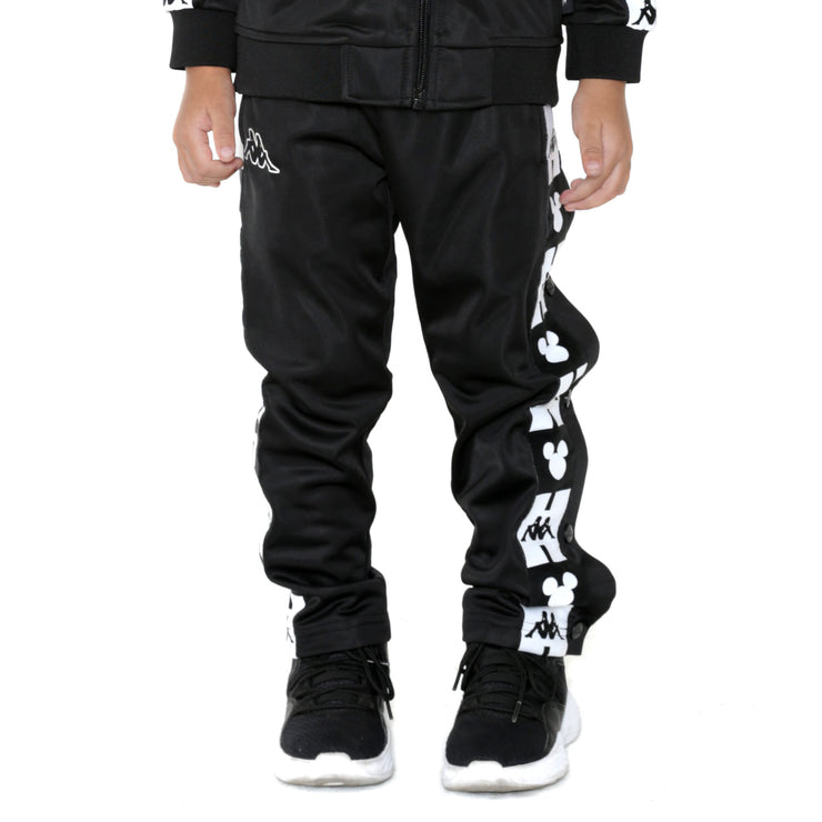 Kids Authentic Anthony Disney Black Track Pants