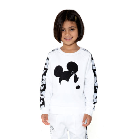 Kappa Kids Authentic Audley Disney White Sweatshirt