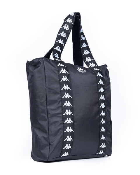 Authentic Anim Black White Medium Shopping Bag