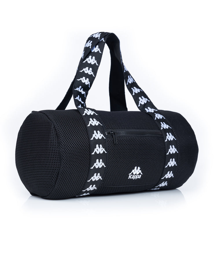 Authentic Angy Black White Large Duffle