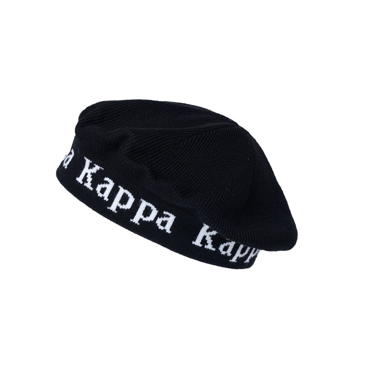 Kappa Authentic Bzaibai Basque Black White Hat