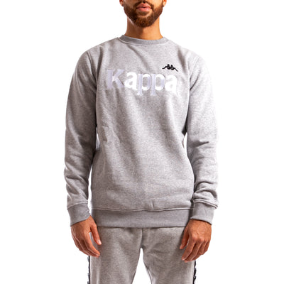 Kappa Authentic Bzali Grey Silver Sweatshirt