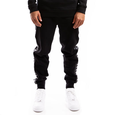 Kappa Authentic Bzaliw Black White Pant