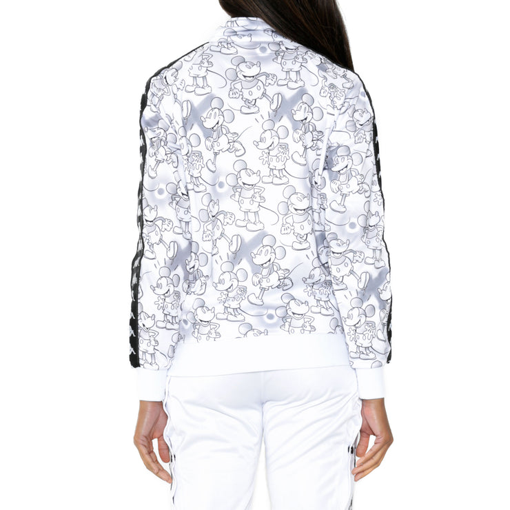 222 Banda Anniston Disney White Grey Graphic Track Jacket