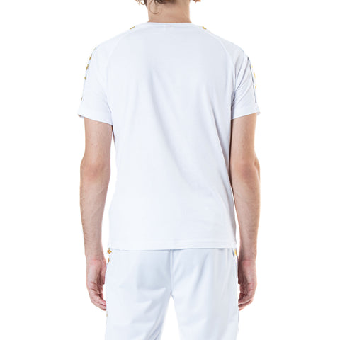 222 Banda Coen Slim White Gold T-Shirt