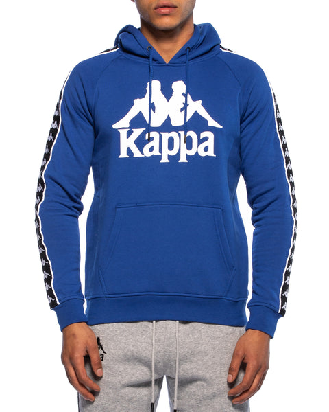 Kappa Mens Authentic Hurtado Blue Hoodie - Front
