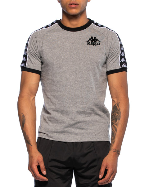 Kappa Mens Authentic Raul Grey Jersey - Front