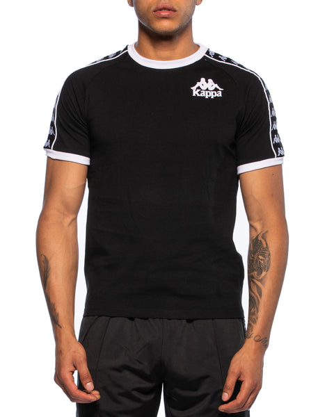 Kappa Mens Authentic Raul Black Jersey - Front