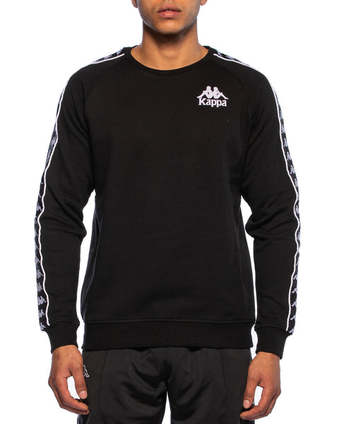 Authentic Hassen Black Crew Sweater - Front