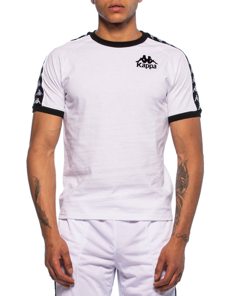 Kappa Mens Authentic Raul White Jersey - Front