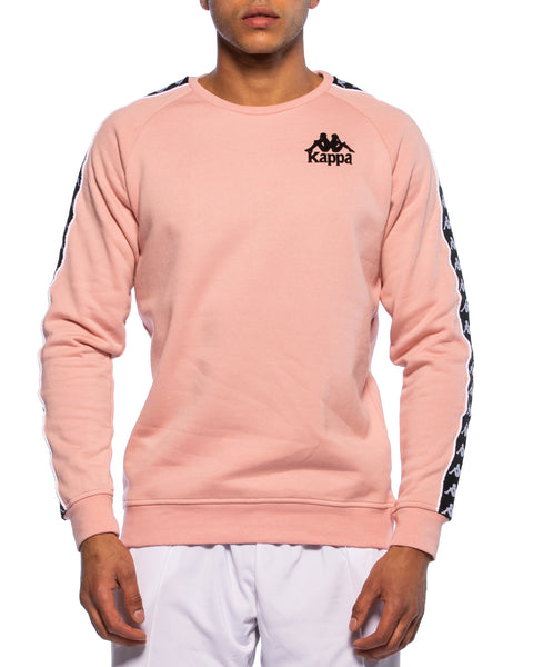 Authentic Hassen Pink Crew Sweater - Front