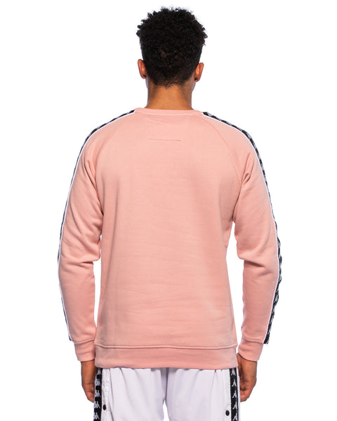 Authentic Hassen Pink Crew Sweater - Back