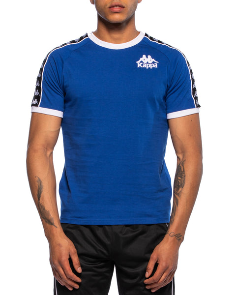 Kappa Mens Authentic Raul Blue Jersey - Front