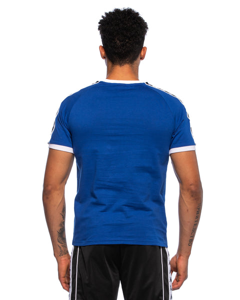 Kappa Mens Authentic Raul Blue Jersey - Back