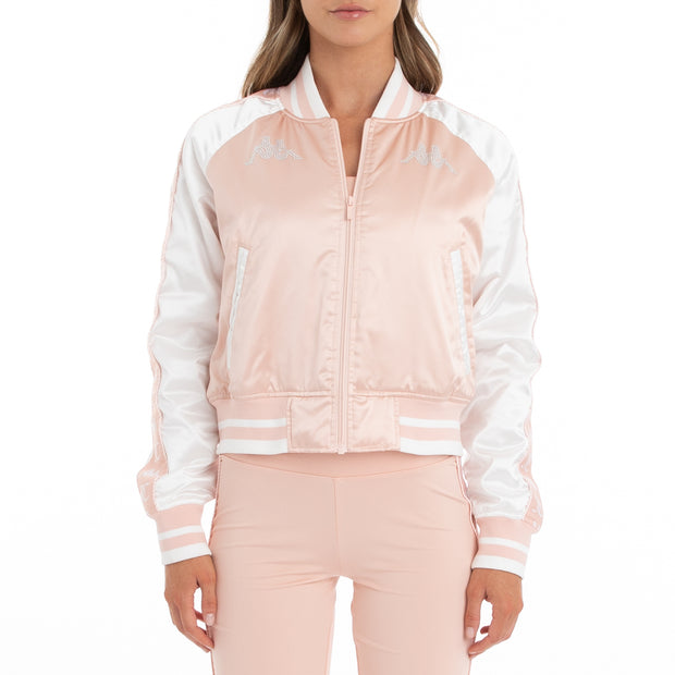 Authentic Juicy Couture Europa Bomber Jacket - Pink White