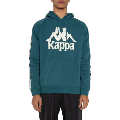 Kappa Authentic Hurtado Blue Petrol Beige Hoodie