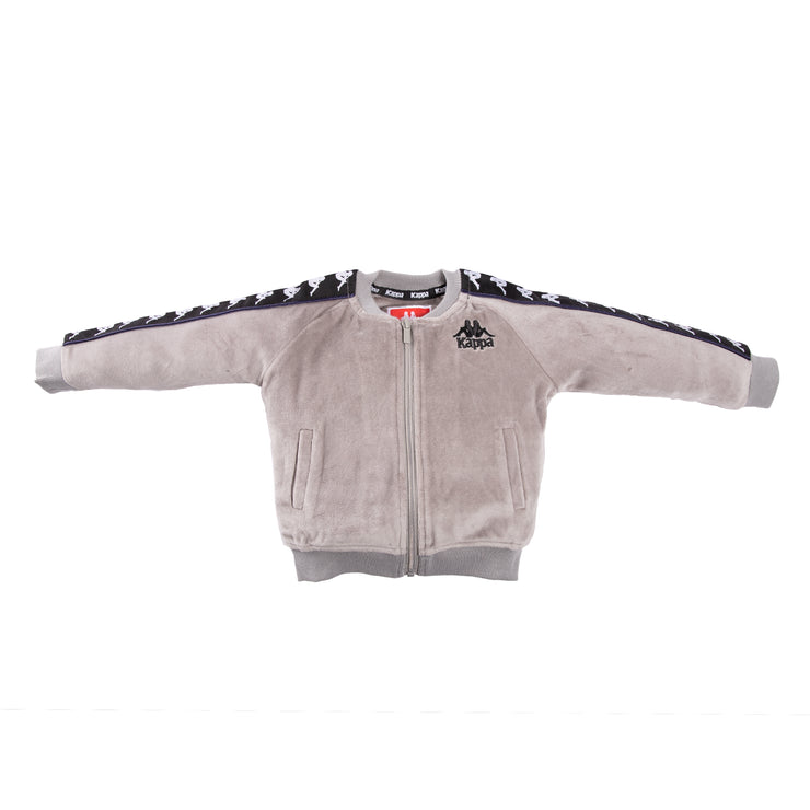Infants Authentic 222 Banda Benetti Jacket GreyMist Black White