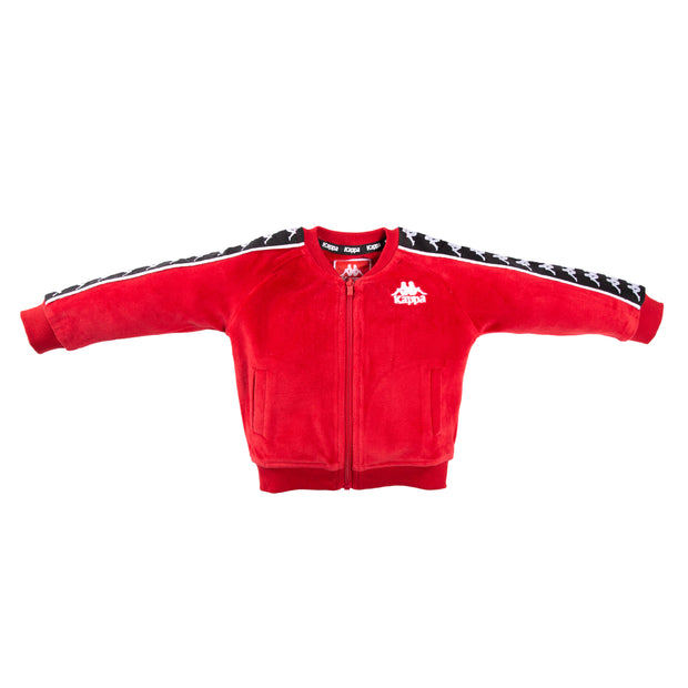Infants Authentic 222 Banda Benetti Jacket Red Dk Black White