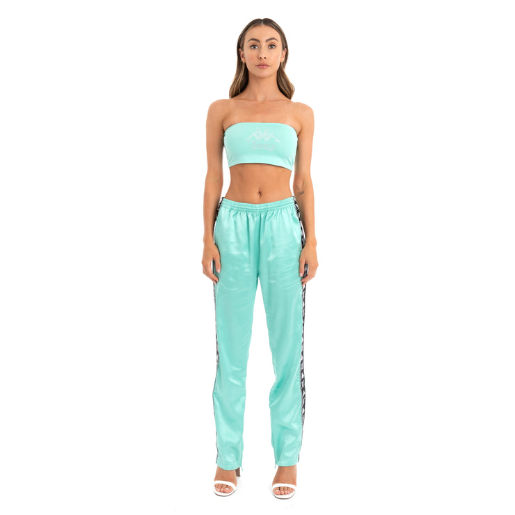 Authentic Juicy Couture Enea Trackpants - Mint Black