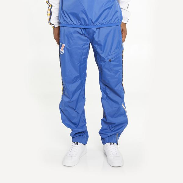 Men's K-Way X Kappa Le Vrai 3.0 Edgard Banda Pants Blue Royal