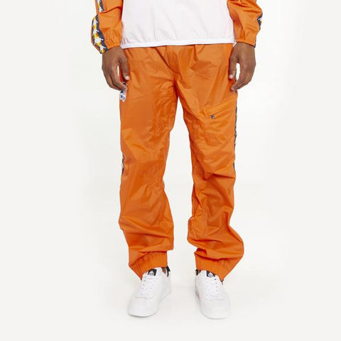 Men's K-Way X Kappa Le Vrai 3.0 Edgard Banda Pants Orange Flame