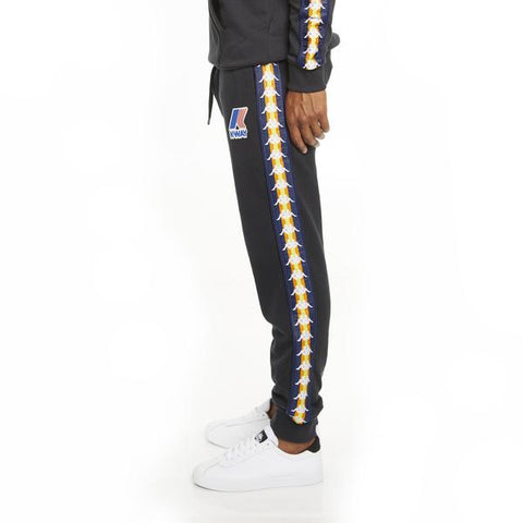 Men's K-Way X Kappa Le Vrai 3.0 Ivan Banda Black Sweatpants