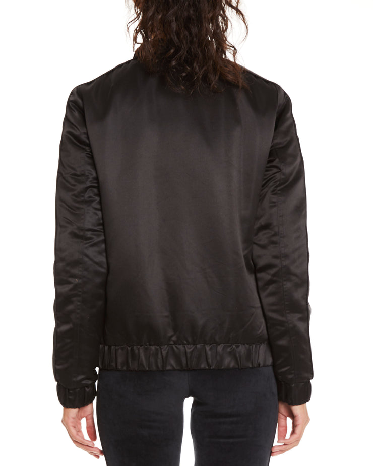 Kappa Authentic Adin Black Jacket - Back