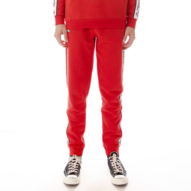 Logo Tape Anira Sweatpants - Red White