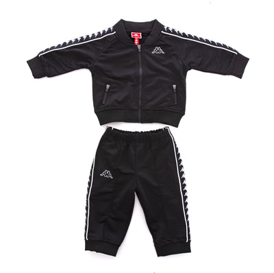 Kids Authentic 222 Banda Sbain Tracksuit Black White