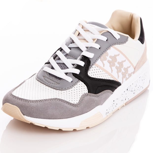 Kappa 222 Banda Luxor 1 White Grey Sneakers