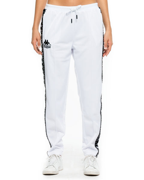 Authentic Amwor White Trackpant - Front