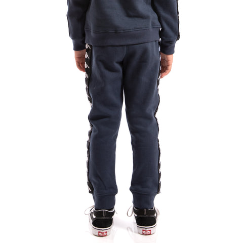 Kappa Kids Authentic 222 Banda Agrif Slim Pants Blue Marine Black