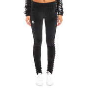 Kappa 222 Banda Ammu Black White Leggings